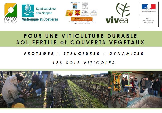 FORMATION : Viticulture durable, sol fertile et couverts végétaux