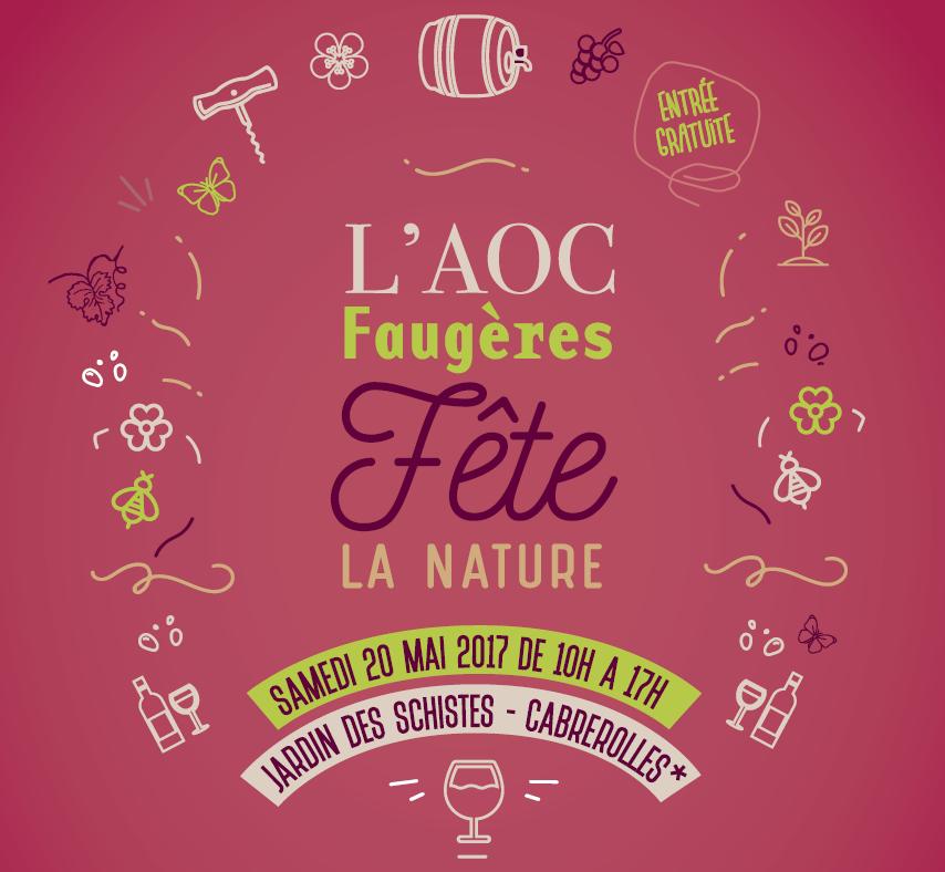 20 Mai : L'AOC Faugères fête la nature