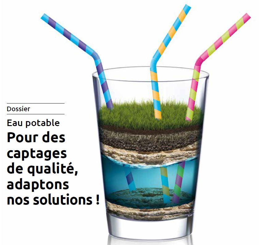 Pour des captages d'eau potable de qualité, adaptons nos solutions !