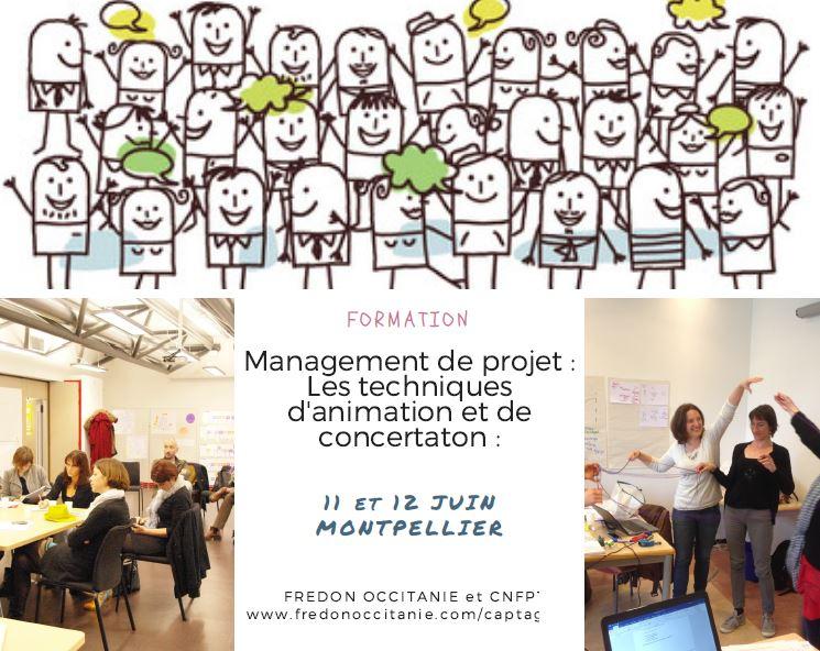 11 et 12 Juin: Formation «Management de projet et techniques de concertation»