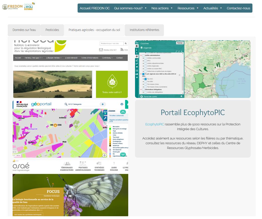 Ressources du gestionnaire BAC : une nouvelle page pour accéder aisément aux données et outils clés